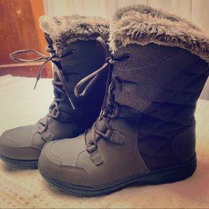 Columbia Ice Maiden II Waterproof Boots - Brown